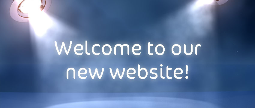New website banner